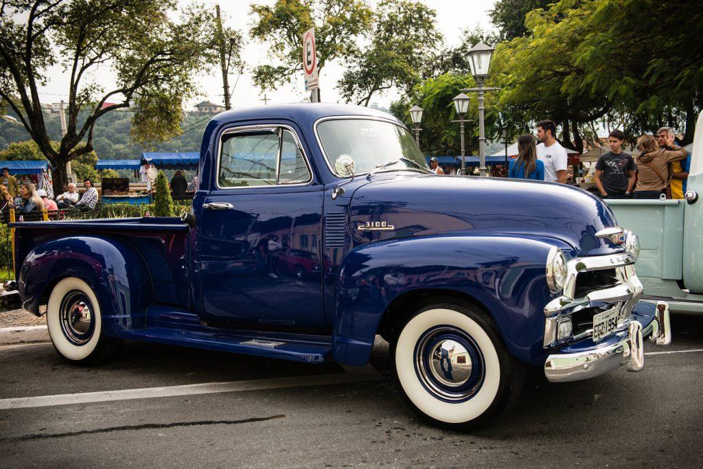 """""""Chevrolet 1954"""" — 13º Show de Autos Antiguos en Santana de Parnaíba, Brasil, 2014"""