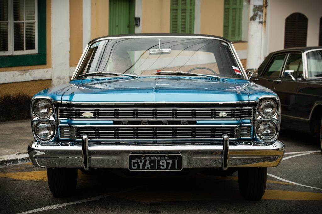Ford Galaxie en el 13º Show de Autos Antiguos en Santana de Parnaíba, Brasil, 2014